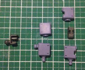 HG 高機動型ザクⅡ(オリジン.ver) 製作 2日目
