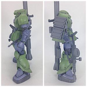 HG ザクⅠ(オリジン.ver)製作・完成品レビュー