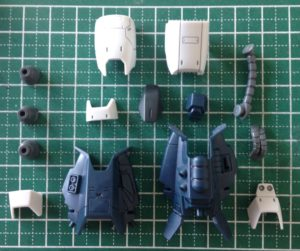 HG 高機動型ザクⅡ(オリジン.ver) 製作 2日目【ヤフオクで売るためのガンプラ製作】