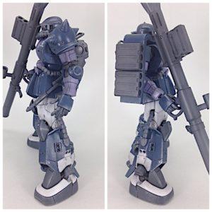 HG 高機動型ザクⅡ(オリジン.ver) 製作 完成品