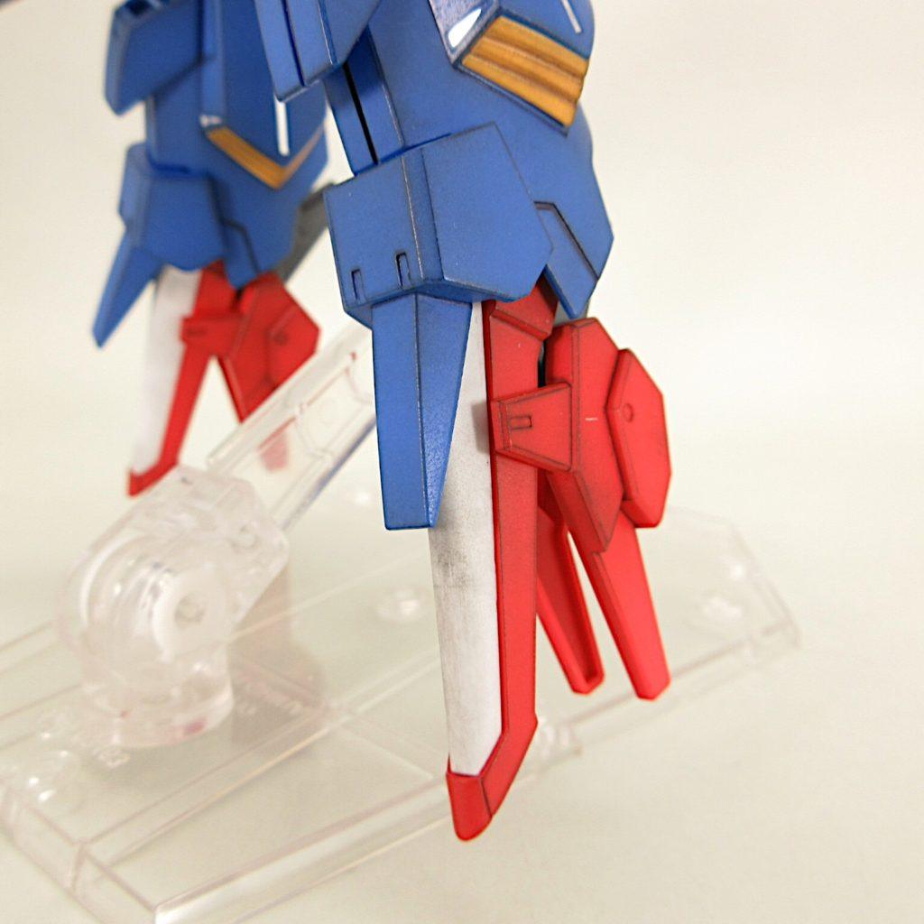 HGBF ZZⅡ(ダブルゼッツー) 完成品レビュー【ヤフオクで売るためのガンプラ製作】