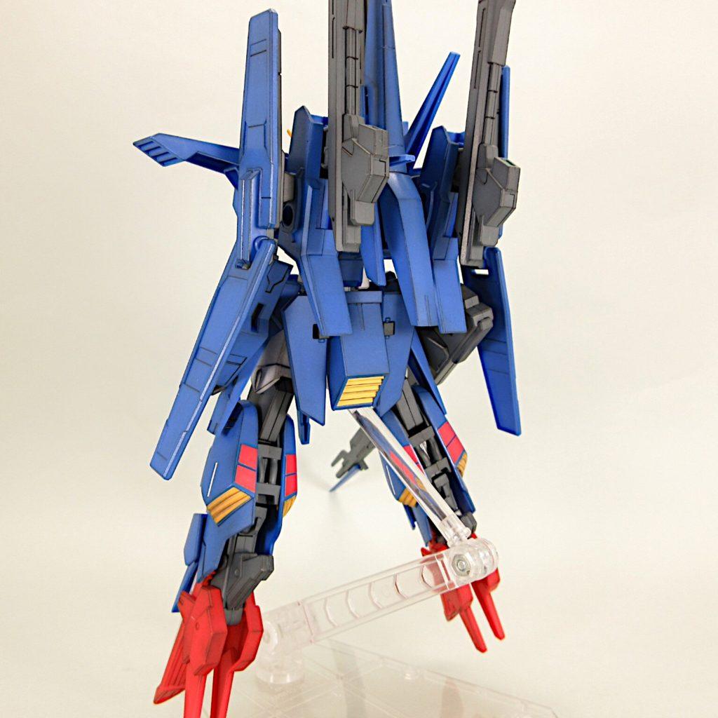 HGBF ZZⅡ(ダブルゼッツー) 完成品レビュー