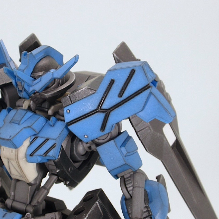 HGIBO ガンダムヴィダール 完成品レビュー【ヤフオクで売るためのガンプラ製作】