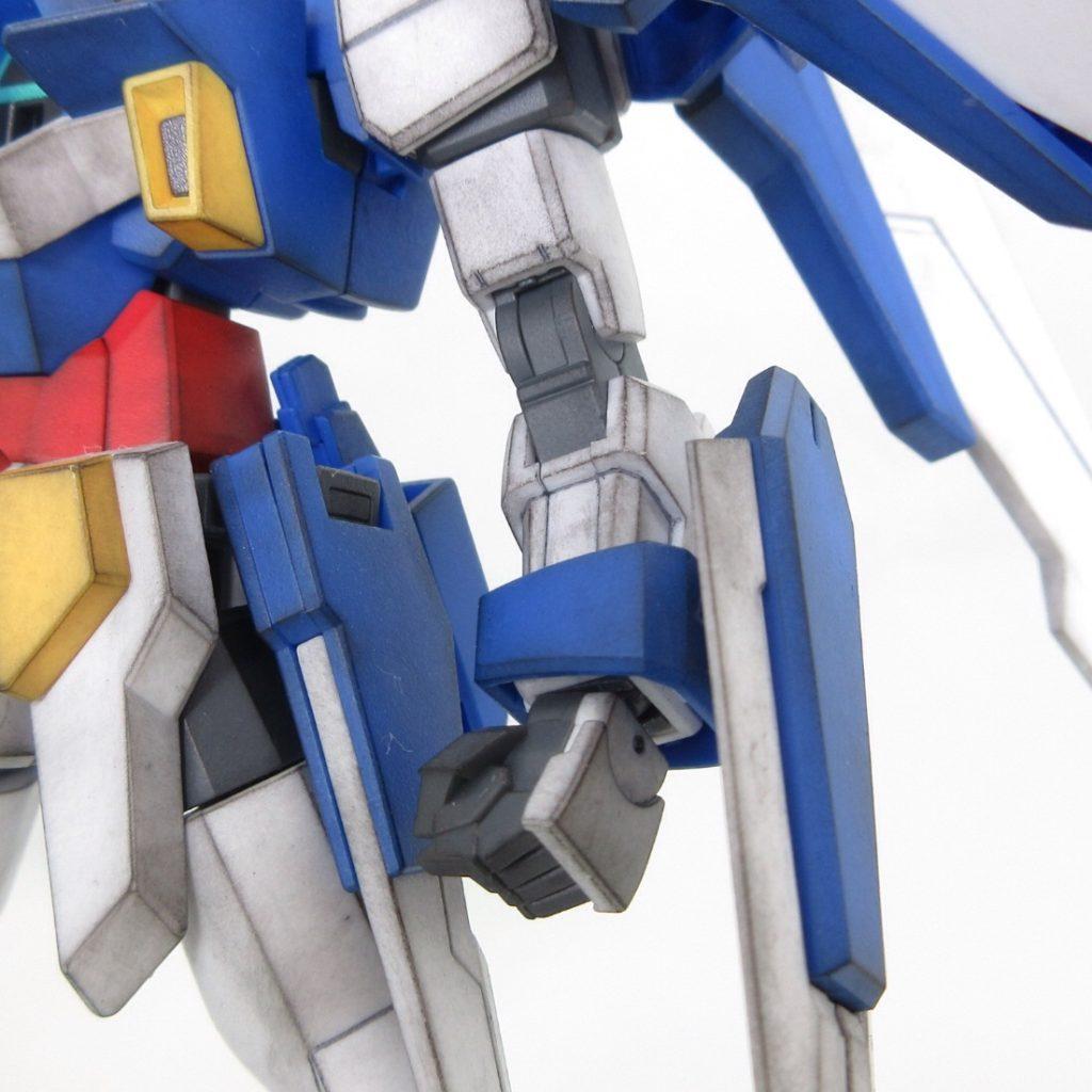 HGAGE ガンダムAGE-2ノーマル 完成品レビュー【ヤフオクで売るためのガンプラ製作】
