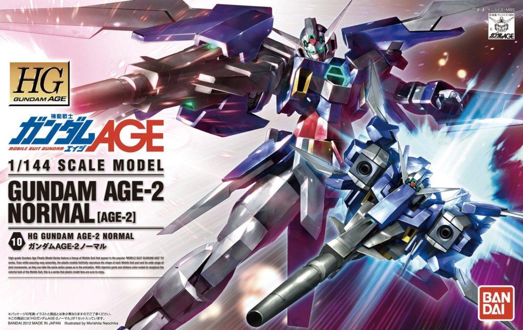 HGAGE ガンダムAGE-2ノーマル 製作レビュー