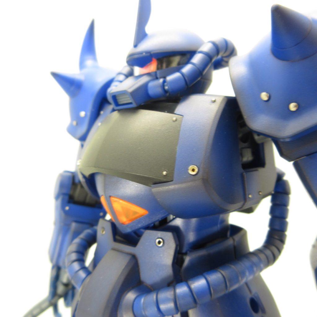 MG グフ ver1.0 完成品レビュー【ヤフオクで売るためのガンプラ製作】