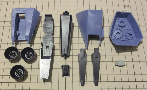 HGUC メッサーラ 製作・完成品レビュー【ヤフオクで売るためのガンプラ製作】