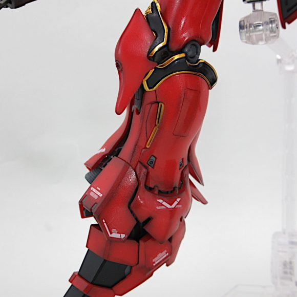 RG シナンジュ  完成品レビュー 【ヤフオクで売るためのガンプラ製作】
