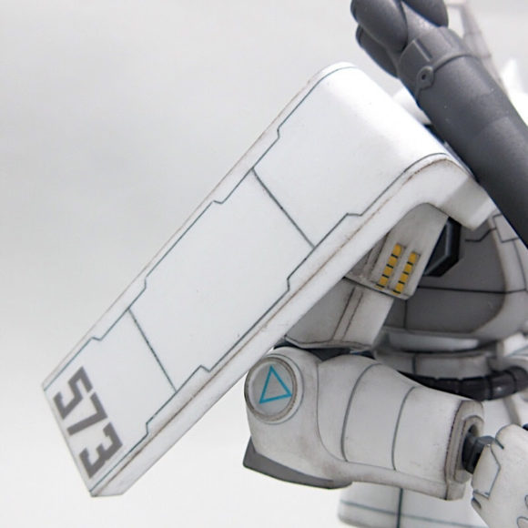 HGUC 高機動型ザクⅡ(シンマツナガ機) 製作・完成品レビュー