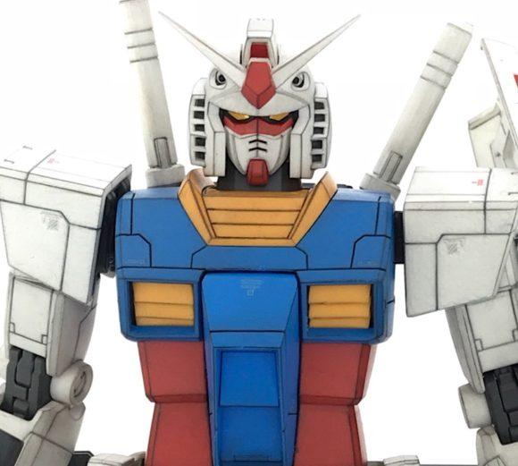 MG RX78-2 ガンダム Ver2.0 完成品レビュー【ヤフオクで売るためのガンプラ製作】