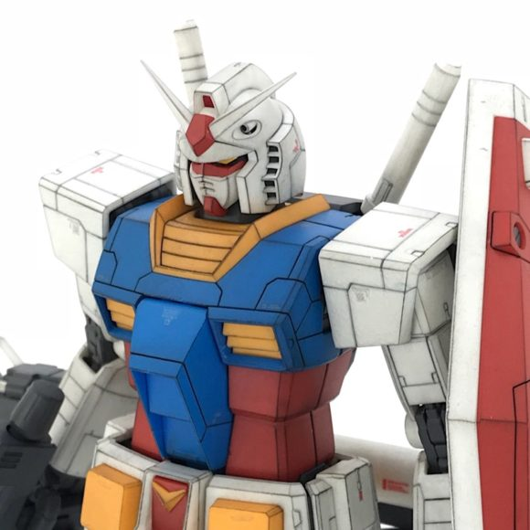 MG RX78-2 ガンダム Ver2.0 製作・完成品レビュー
