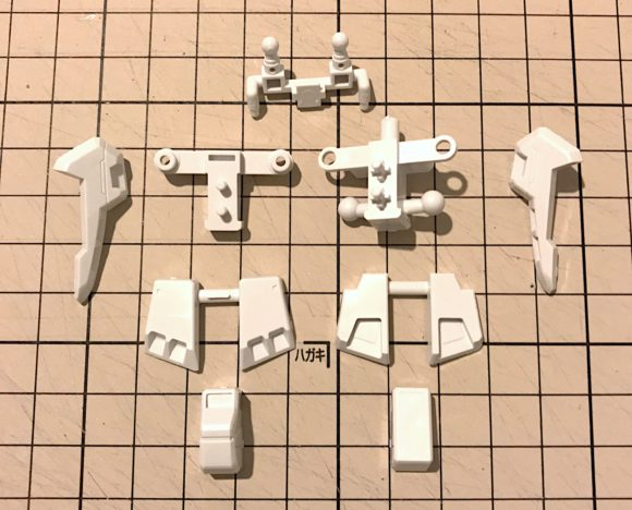 HGUC GP03ステイメン 製作・完成品レビュー【ヤフオクで売るためのガンプラ製作】