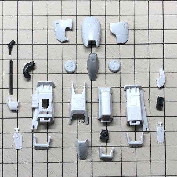RG 高機動型ザクⅡシンマツナガ専用機 製作レビュー