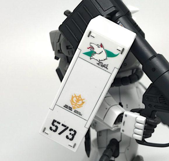 RG 高機動型ザクⅡシンマツナガ専用機 完成品レビュー