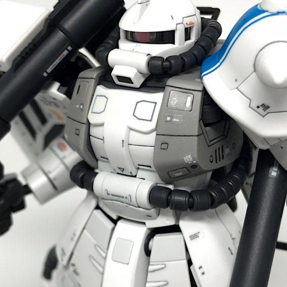 RG 高機動型ザクⅡシンマツナガ専用機 完成品レビュー 【ヤフオクで売るためのガンプラ製作】