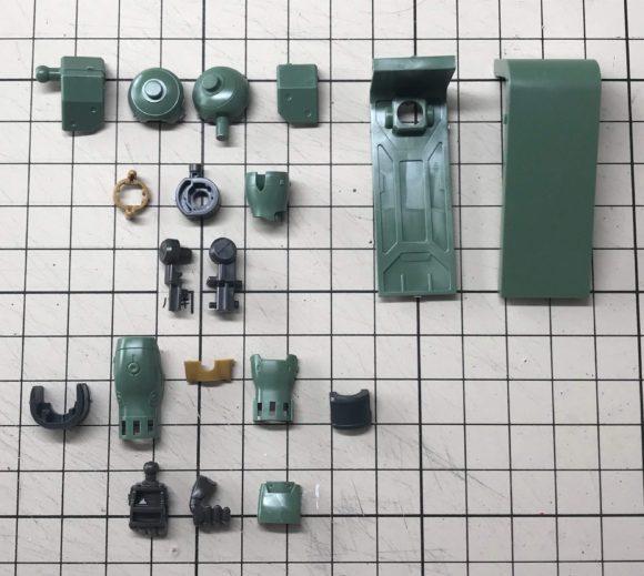 HGUC ギラズール(キュアロン機) 製作・完成品レビュー