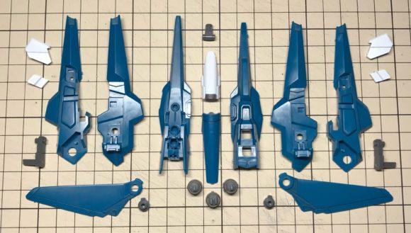 HGUC リゼル(隊長機) 製作・完成品レビュー【ヤフオクで売るためのガンプラ製作】