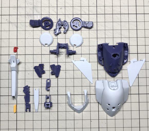 HGUC ガンダムTR-6[ウーンドウォート] 製作&完成品レビュー